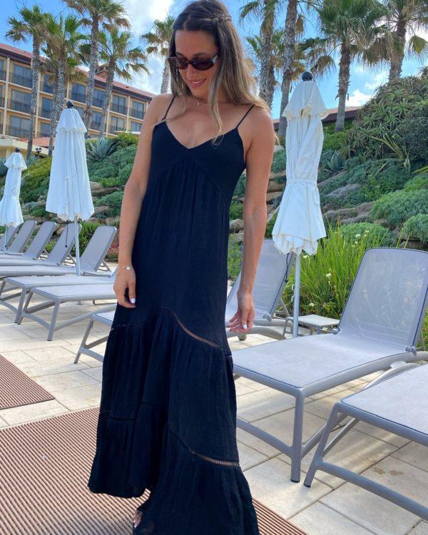 שמלת פליי שחורה