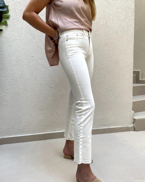 מכנסיים ZIRCON לבן