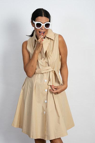 שמלת SABIN בז'