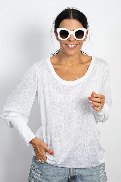 חולצה לבנה MEITAL