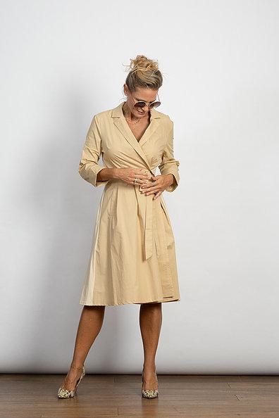 שמלת מעטפת MAC בז'