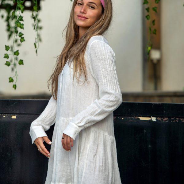 שמלת RYAN לבנה