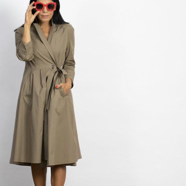שמלת מעטפת MAC מוקה