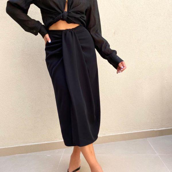 חצאית DIANA שחורה